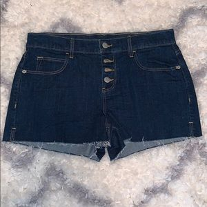 Old navy boyfriend jeans shorts NWOT